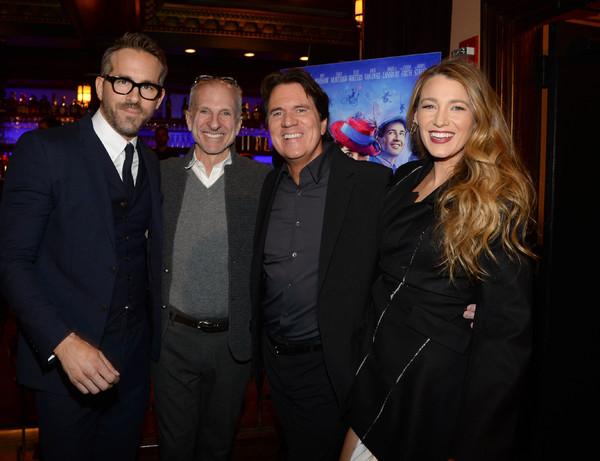 Ryan Reynolds, John DeLuca, Rob Marshall, Blake Lively